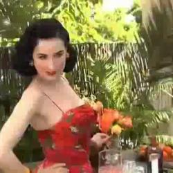 Cointreau x Dita von Teese - Making of the Cointreau Margadita