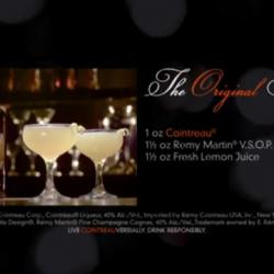 The original Sidecar story - by Cointreau staring Dita Von Teese